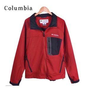Columbia Titanium Waterproof Winter Ski Jacket Red